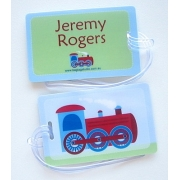 Steam Train - Bag Tag
