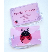 Lady Bug - Luggage Tag