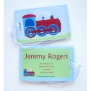 Steam Train - Luggage Tag