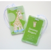 Spotty Giraffe - Luggage Tag