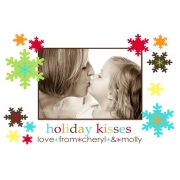 Christmas Card/Christmas Announcement'Christmas Kisses'