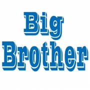 Personalised Clothing Big Brother DesignAvailable in a t-shirt, bib, bodysuit, singlet, apron, santa sack, library bag & shoulder bag