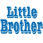 Personalised Clothing Little Brother DesignAvailable in a t-shirt, bib, bodysuit, singlet, apron, santa sack, library bag & shoulder bag
