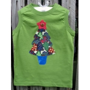 Clothes - Christmas Tree Blue Potsizes 000 - 6