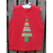 Clothes - Christmas Tree Green Potsizes 000 - 6