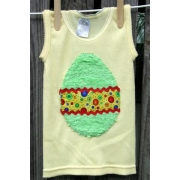 Easter Egg Green Applique T shirtsizes 000 - 6Choose your colours