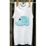 Elephant Applique T shirtsizes 000 - 6