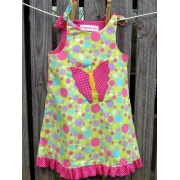 Dress - Butterfly Spots - Available in sizes 00 - 4