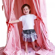 Kids Kastle / Play Tent - Red