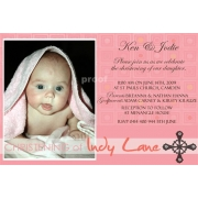 Christening Invitation 'Dots n Squares'