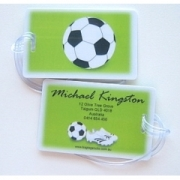Soccer Mania - Luggage Tag