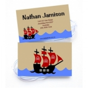 Pirate Ship - Luggage Tag
