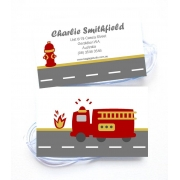 Fire Engine - Luggage Tag