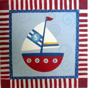 Sailboat Stripes 2