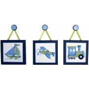Travel Set - Blue & Green(Set of 3)