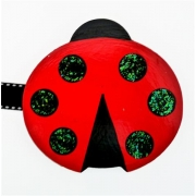 Artwork Hanger Set - Ladybird red & blackDisplay your child's pictures