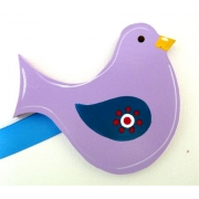 Artwork Hanger Set - Lil Birdie - PurpleDisplay your child's pictures