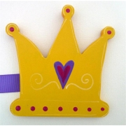 Artwork Hanger Set - Crown - YellowDisplay your child's pictures