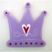 Artwork Hanger Set - Crown PurpleDisplay your child's pictures