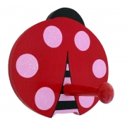 Coat Hook - Ladybird