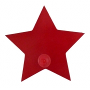 Coat Hook - Star Red