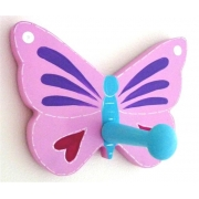 Coat Hook - Butterfly