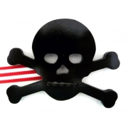 Artwork Hanger Set - Pirate Crossbones - BlackDisplay your child's pictures