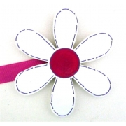 Artwork Hanger Set - Flower - White & PinkDisplay your child's pictures