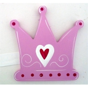 Artwork Hanger Set - Crown PinkDisplay your child's pictures