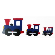 Wall Motif Set - TrainPainted