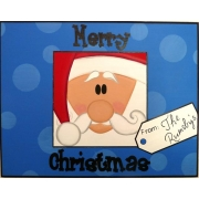 Christmas Plaque PersonalisedWith or without ribbon hangerSanta Tag
