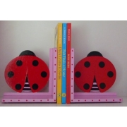 Book End Pair - Ladybird