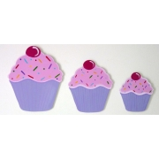 Wall Motif Set - CupcakePainted