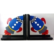 Book End Pair - Rocket