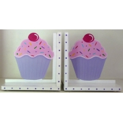 Book End Pair - Cupcake
