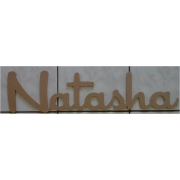 x***EXCESS STOCK SALE***xScripted Name NATASHA9 mm 20 cm highMEDIUM Chic FontCan be painted in any colour