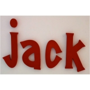 Alphabet Letters HandpaintedChoose your font & sizeSolid Red