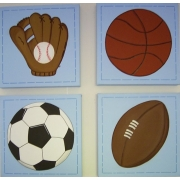 Ball Sports 2(Set of 4)