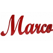 Scripted Name Plaque5 letter nameLARGE Impact Font(shown here in red gloss)