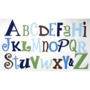 Alphabet Letters Full Wooden Wall Set A-ZChoose your colour themeSMALL SET - BOYSON SALE 1 SET ONLY 'AS PICTURED' READY TO GO