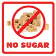.Lunch Labels - Allergy Warning No Sugar 24 labelsfree shipping