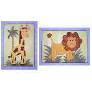Animal Jungle Set Blue(Set of 2)