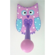 The Band StandOwl Dotty - Pink & Purple & Aqua