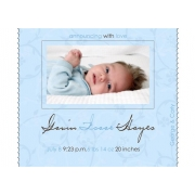 Christening Invitation 'Little Boy Blue'