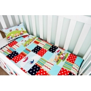 Cot/Pram Quilt Transport - can be personalised
