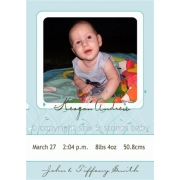 Christening Invitation 'Breeze'