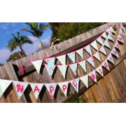 .Bunting -  HAPPY BIRTHDAY  - you choose colour, theme, pattern.