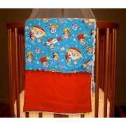 Pram/Cot BlanketRocket RascalsAlso available in over 40 fabric designs