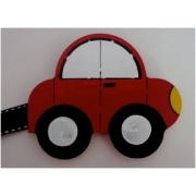 Artwork Hanger Set - Car - RedDisplay your child's pictures