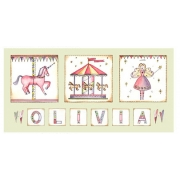 Canvas Name - CarouselAvail. in 20 different colours